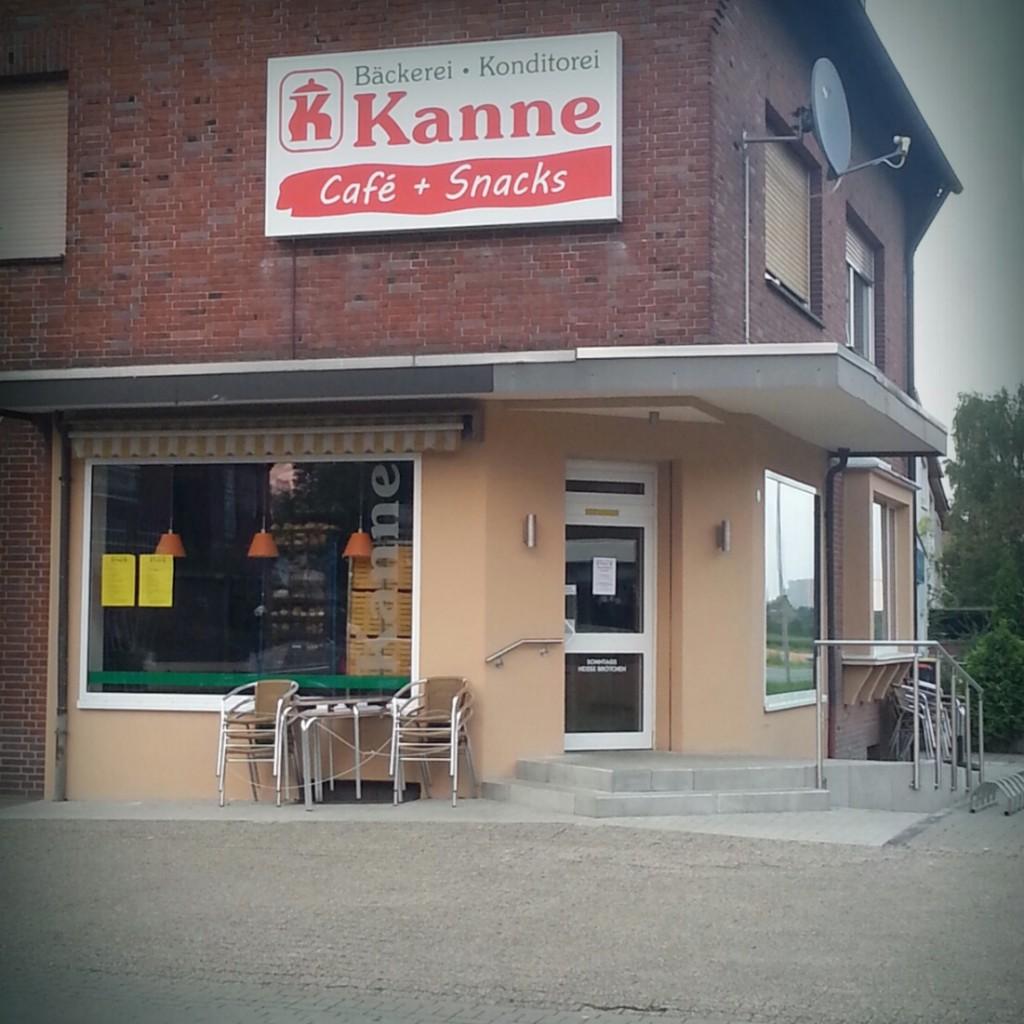 Kanne Backshop auf der Münsterstraße